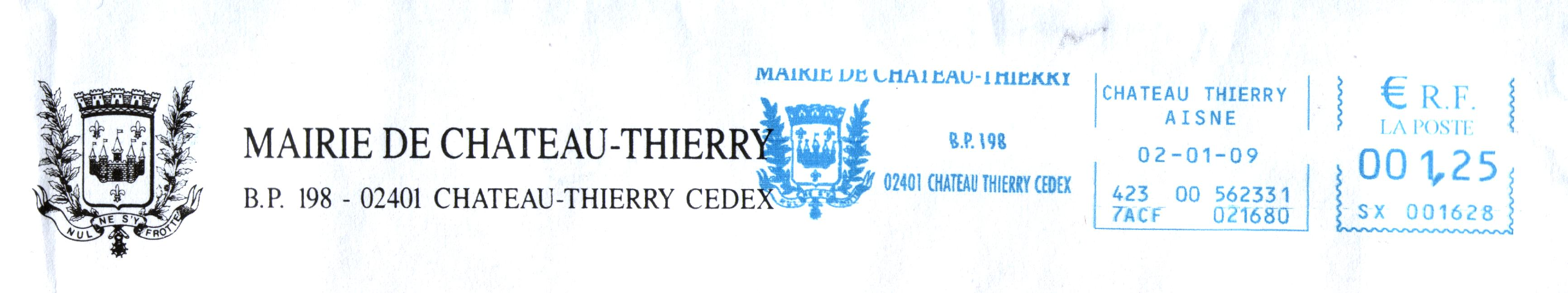 post uit Chateau-Thierry